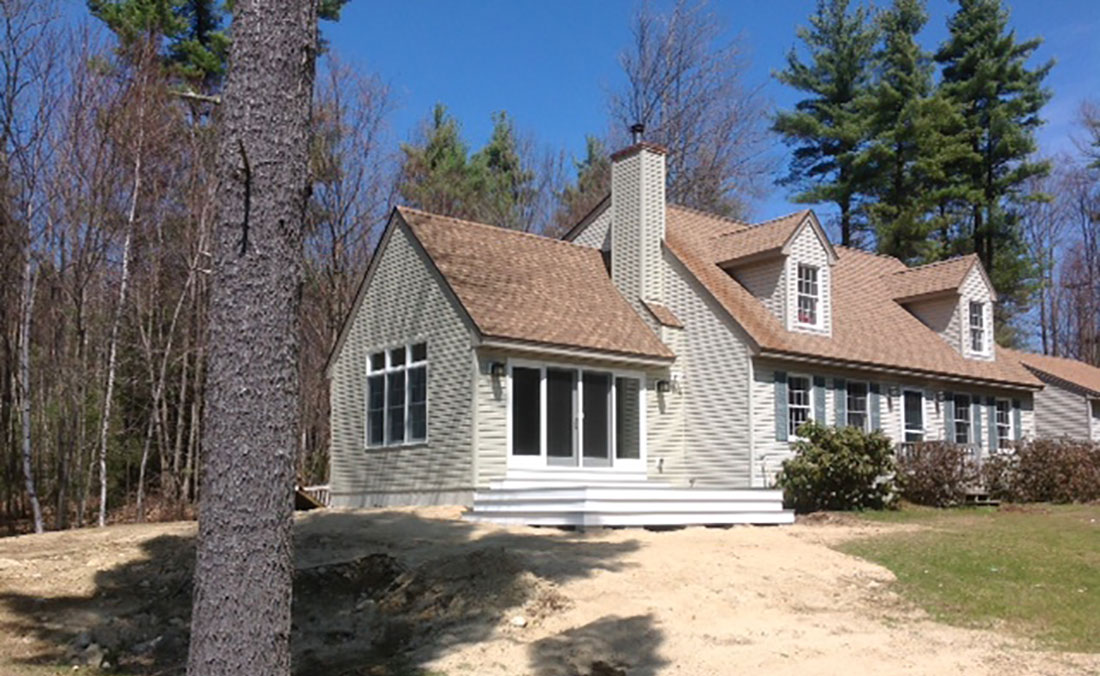 Cape addition northeast builders for Dormered cape
