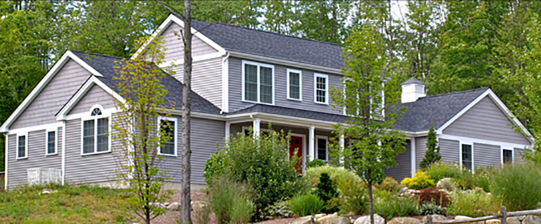 Modified colonial northeast builders for Dormered cape
